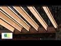 Maison ossature bois, poutre en I, poutre bois, plancher bois, wood frame house, wood beam