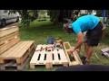 Comment faire un banc en palette