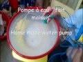 Comment faire une pompe a eau simple!  tuto