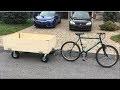 Vidéo tutoriel remorque pour vélo!