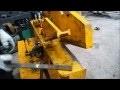 cisaille de métal hydraulique ,crocodile (agoujil)