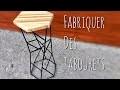 Fabriquer des tabourets de bar. ( DIY bar stool )