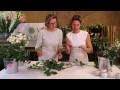 Pop fleurs : Créer une guirlande de table pour un mariage