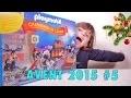 [PLAYMOBIL] Calendrier #5 de l'Avent 2015 Pompiers - Studio Bubble Tea unboxing Advent Calendar