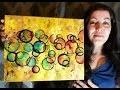 Orbes Colorées - Peinture Acrylique Abstraite Facile