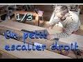 TUTORIEL : UN PETIT ESCALIER DROIT 1/3