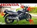 """""""Vlog"""" Premières modifications sur ma nouvelle moto """"Honda VF1000F2"""""""