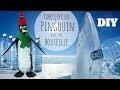 DIY Noël - Fabriquer un pingouin avec une bouteille en plastique