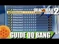 DRAGON BALL XENOVERSE 2 | Comment créer des QQ Bang 5 étoiles | Guide FR