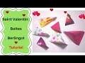 Comment faire des Boîtes en Papier Berlingots : tutoriel très facile