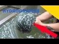 HYDROGRAPHIE - PEINTURE A L'EAU SUR OBJET  (WATER TRANSFERT)