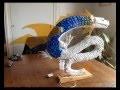 Dragon avec des materiaux de recuperation