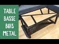 Fabrication d'une table basse BOIS / METAL / Challenge OuiAreMakers / Leroy Merlin / DIYBOIS