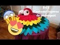 {DIY} costume express de perroquet - Express costume of parrot