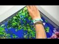 plafonnier LED design, décoratif