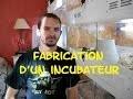 Tuto : Fabrication d'un incubateur pour oeufs de serpents . Python , morelia , serpent des blés