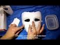 Réaliser un masque selon un moulage .