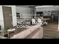 time-lapse auto construction maison conteneur