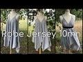 Coudre une Robe avec 1 carré en Jersey en 10mn - Tuto Couture DIY