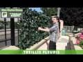 TREILLIS FLEURIS - Haie artificielle, brise vue, occultant, clôture, canisse, haie synthétique