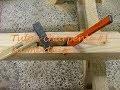 Tuto de charpente #1 La mortaise, comment faire une mortaise sans mortaiseuse?