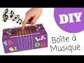 Tutoriel - DIY : Fabriquer une boîte à musique pour enfants