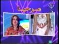 samia hennous l'invitée de tv4 tamazight à propos de la robe kabyle