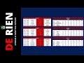 Créer un tableau de score pour la coupe du monde sur Excel partie 1 -- Tuto De Rien