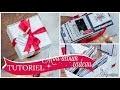"""Tutoriel mini-album façon """"Cadeau"""" en Reflet d'Or de Swirlcards"""