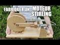 Fabriquer un moteur Stirling - Moteur thermique à air / solaire