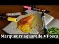 Démo Marqueurs aquarelle + Posca (Nature morte)
