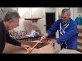 Fabrication d'un bateau en carton pour Océan festival