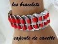 bracelet en capsule de canette