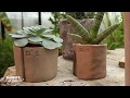 Atelier créatif : des pots en argile auto-durcissant