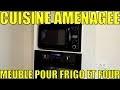 Bricolage - Tutoriel - Ep. 4 - Encastrer un frigo et un four - Cuisine aménagée - toutbricoler.fr