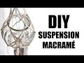 DIY DECO - Suspension macramé (diy facile)