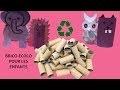 Bricolage enfants #2 les rouleaux de papier toilette
