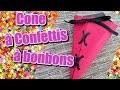Comment faire un cone à confettis ou à bonbon