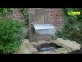 Comment installer une fontaine de jardin ? - Jardinerie Truffaut TV