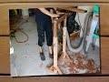 Travail du bois - Fabrication de tréteau en bois avec rouleau