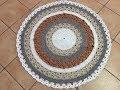 Tuto tapis mandala au crochet