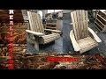 Adirondack en bois de récupération #3