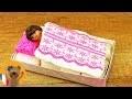 Playmobil DIY Nouveau lit Playmobil   Meuble pour la villa de luxe Playmobil à faire soi-même