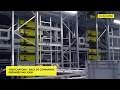 • Installation de préparation de commandes hautement dynamique avec les navettes Cuby de SSI SCHÄFER