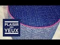 Comment Changer Le Tissu Sur un POUF ROND?