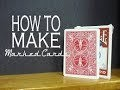 Tuto Magie / How To Make Marked Cards/Comment Fabriquer Son Jeu Marqué