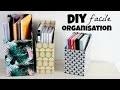 DIY un rangement pour vos livres et cahiers