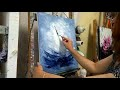 Cours de peinture au couteau (tuto facile) Les Voiliers