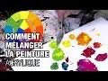 🎨 Comment faire des mélanges en peinture acrylique (2019)