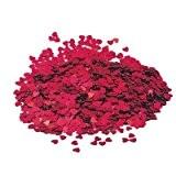 14g Coeur rouge de table confetti - Fabulous Rouge étincelle de mariage de coeur parti table de confettis